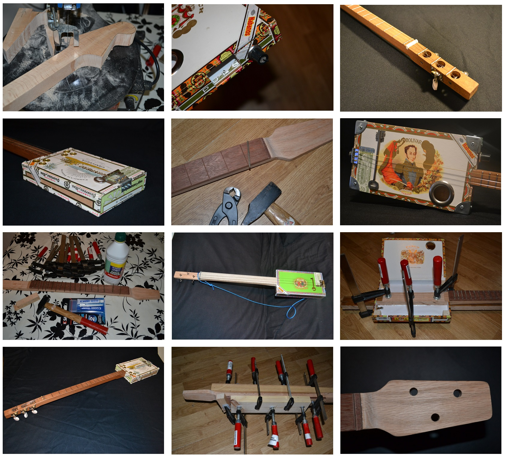 image accueil site cigar box guitar